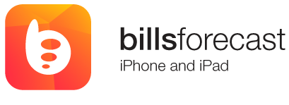 Bills Forecast iPhone and iPad App Store